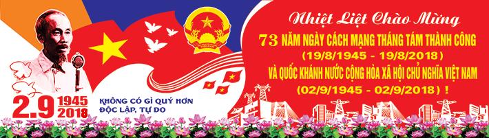73 năm cách mạng Tháng 8 và Quốc khánh 2-9